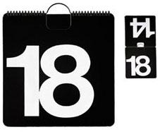 Vignelli Perpetual Calendar